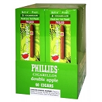 Phillies Cigarillos Double Apple FoilFresh 20/3