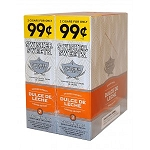 Swisher Sweets Cigarillos Foil Pack Dulce De Leche Pre-Priced