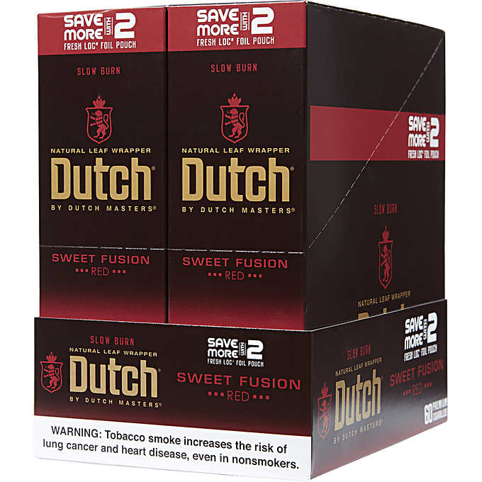 Dutch Masters Cigarillos Foil Sweet Fusion 2for99