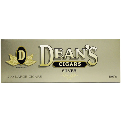 Deans Large Filtered Cigars Silver