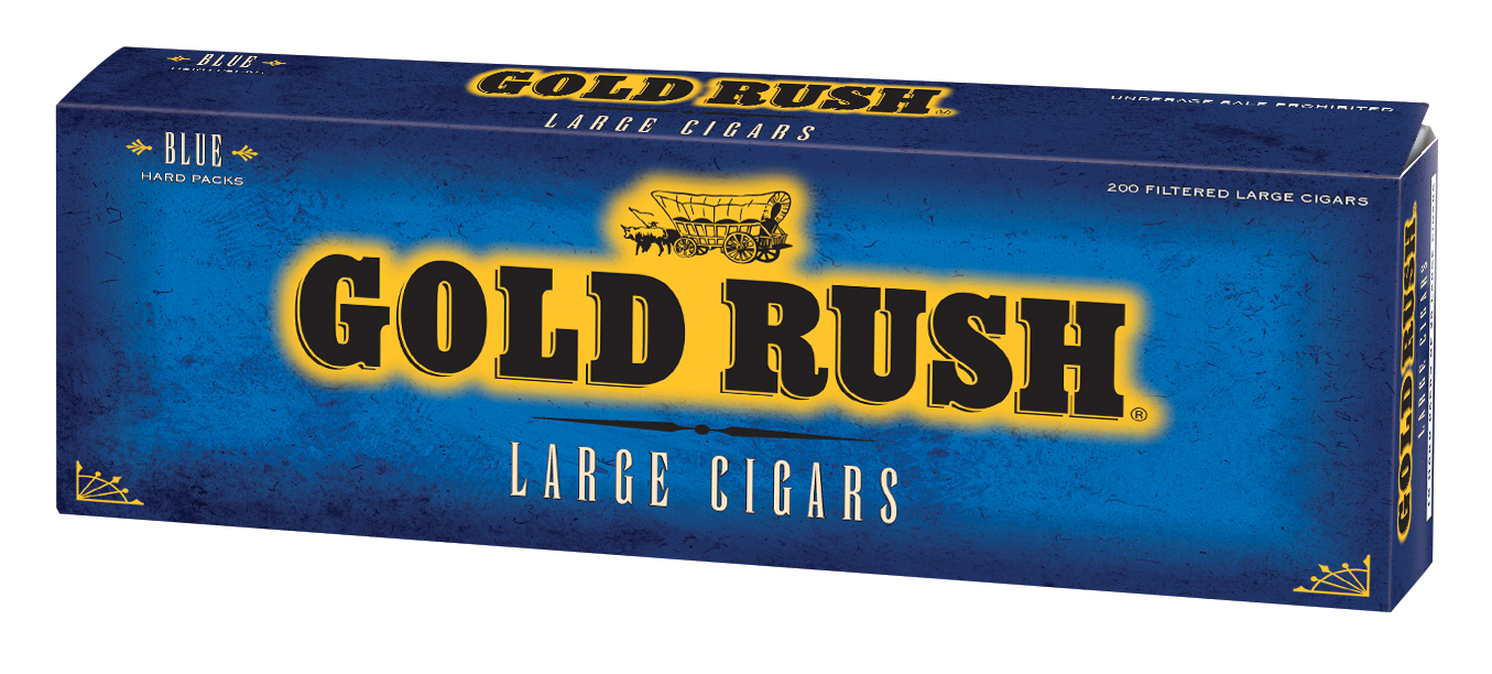 Gold Rush Filtered Cigars Blue