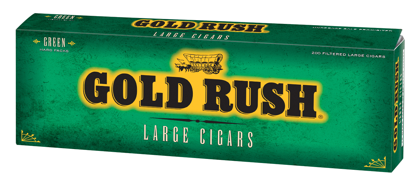 Gold Rush Filtered Cigars Menthol