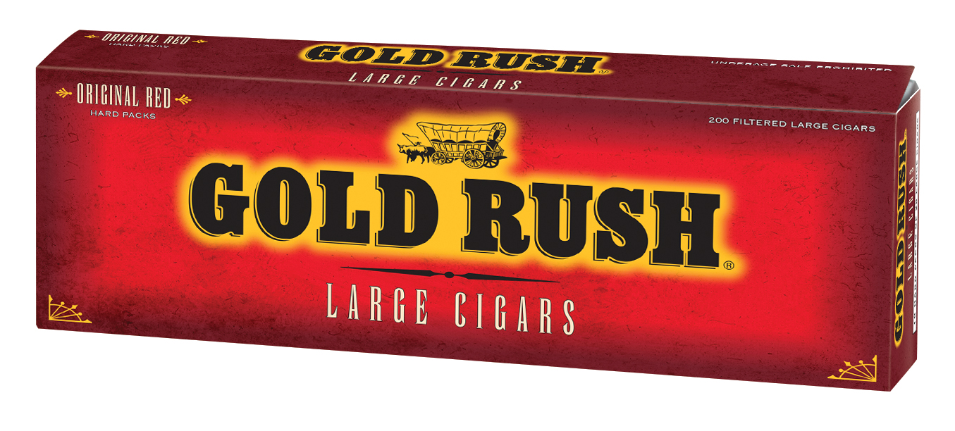Gold Rush Filtered Cigars Full Flavor