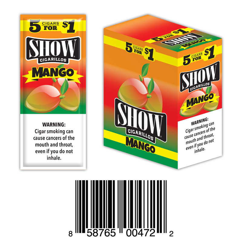 Show Cigarillos Foil Mango Pre-Priced 5FOR1