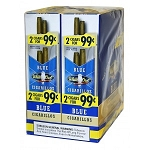 White Owl Cigarillos Foil Fresh Blue Pre-Priced