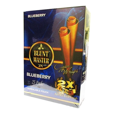 Blunt Master Cigar Wraps 2x Blueberry