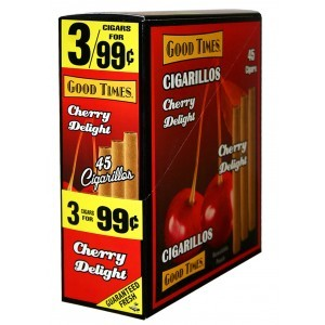 Good Times Cigarillos Delight Cherry 15/3 Pre-Priced