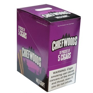 CHIEFWOODS CIGARS WILD GRAPE