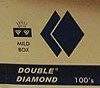 Double Diamond Filtered Cigars