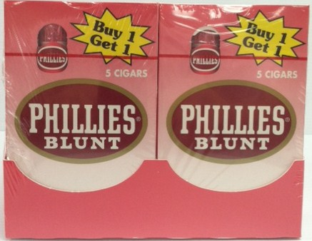 Phillies Blunt Strawberry Cigars B1G1 Pack