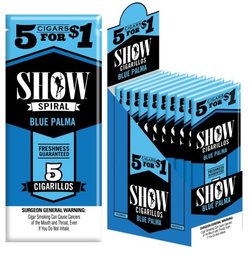 Show Cigarillos Foil Blue Palma Pre-Priced 5FOR$1