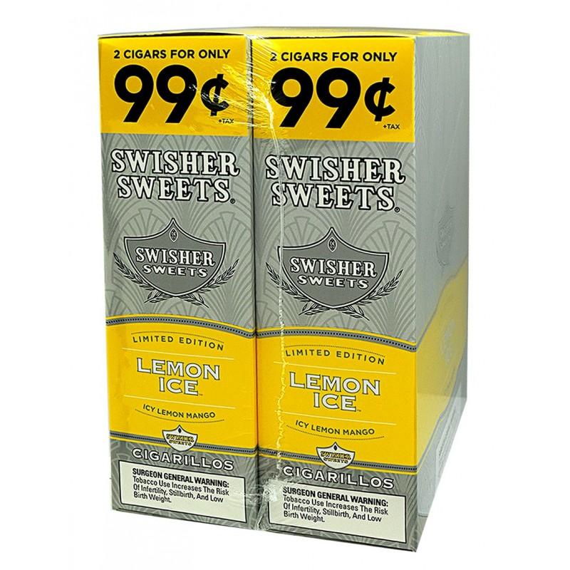 Swisher Sweet Cigarillos Foil Pack Lemon Ice Pre Priced