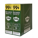 Swisher Sweets Cigarillos Foil Pack Green Sweet Pre-Priced