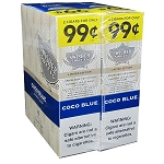 Swisher Sweets Cigarillos Foil CoCo Blue Pre-Priced
