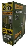 Good Times Cigarillos Green Sweet 15/3 Pre-Priced