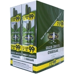 White Owl Cigarillos Foil Fresh Green Sweets Pre-Priced