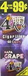 Good Times  4K's NAPA GRAPE CIGARILLOS PRE-PRICED