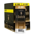 Dutch Masters Cigarillos Foil Irish Fusion Cream 2for99