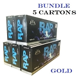 Rap Filtered Cigars Gold Bundle 5