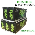 Rap Filtered Cigars Menthol Bundle 5