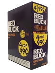 Red Buck Cigarillos Foil Grape 4 for 0.99