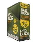 Red Buck Cigarillos Foil Pineapple 4 for 0.99