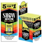 Show Cigarillos Foil Wet & Fruity Pre-Priced 5FOR$1