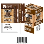 SHOW BK Natural 5PK Natural Leaf Cigar