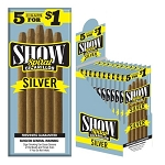 Show Cigarillos Foil Silver Pre-Priced 5FOR$1