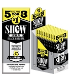 Show Cigarillos Foil Black Pre-Priced 5FOR$1