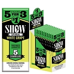 Show Cigarillos Foil White Grape Pre-Priced 5FOR$1