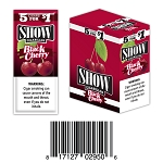 Show Cigarillos Foil Black Cherry Pre-Priced 5FOR1