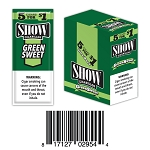 Show Cigarillos Foil Green Sweet Pre-Priced 5FOR1