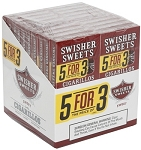 Swisher Sweets Cigarillo Sweet Regular Pack 5FOR3