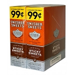 Swisher Sweets Cigarillos Foil Sticky Sweets Pre-Priced