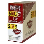 Swisher Sweets Tip Cigarillo Pack 5FOR3 10/5