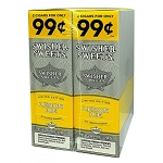 Swisher Sweet Cigarillos Foil Pack Lemon Ice Pre-Priced