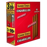 Good Times Cigarillos Strawberry 15/3 Pre-Priced
