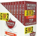 Swisher Sweets Cherry Tip Cigarillo Pack 5FOR3 10/5