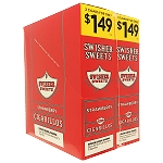 Swisher Sweets Cigarillos Foil Pack Strawberry Ice Pre-Priced 2for1.49