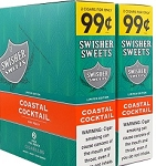 Swisher Sweets Cigarillos Foil Coastal Cocktail Pre-Priced