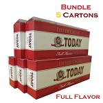 Today Filtered Cigars Full Flavor Bundle 5
