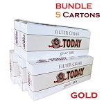 Today Filtered Cigars Gold Bundle 5