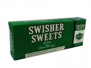 Swisher Sweets Filtered Little Cigars Menthol