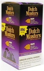 Dutch Masters Grape Pre-Priced 89 Cents