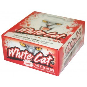 White Cat Cigarillos Sweet Box