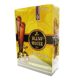 Blunt Master Cigar Wraps 2x Pineapple