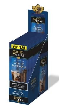 Game Leaf Cigars White Russian Pre-Priced 2/$1.29