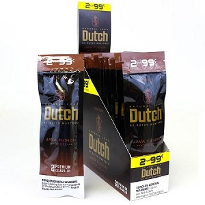 Dutch Masters Cigarillos Foil Java Fusion 2for99