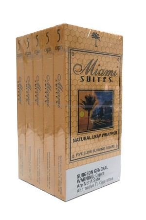 Miami Suites Cigars Honey